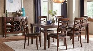 Riverdale Cherry 5 Pc Rectangle Dining Room - Dining Room