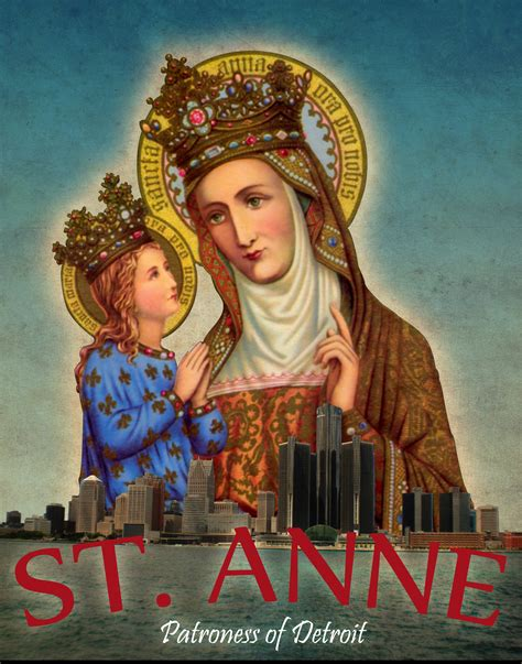 Image result for St. Anne mother of mary