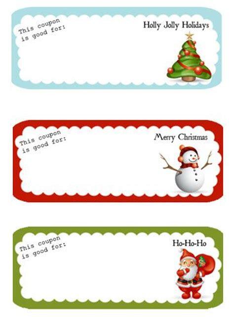 printable holiday coupons coupon template