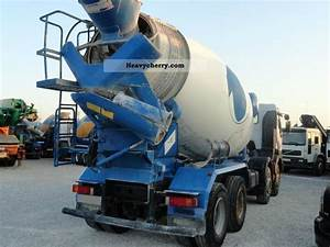Renault 370 32 2002 Cement Mixer Truck Photo And Specs