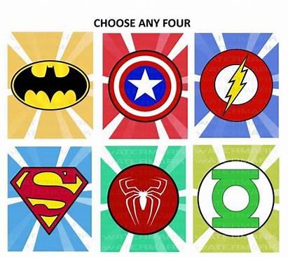 Superhero Logos Printables Printable Superman Super Hero