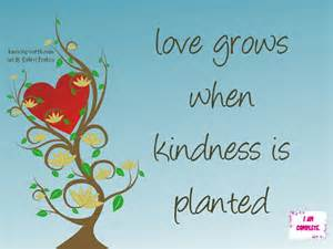 When Is Kindness Love Grows Planted Quote