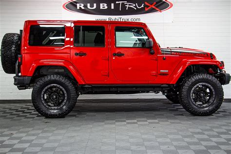 rubicon jeep 2018 2018 jeep wrangler rubicon recon unlimited red