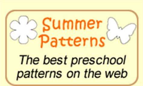 preschool express by jean warren preschool lesson plans 549 | summer patterns button