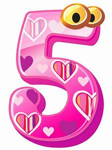 Cute Number Five Clipart Image Image 37892