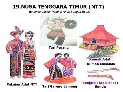 34 provinsi di indonesia lengkap dengan pakaian tarian