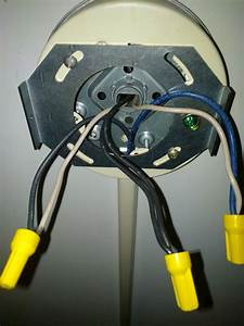 Electrical - Ceiling Junction Box Has 6 Wires