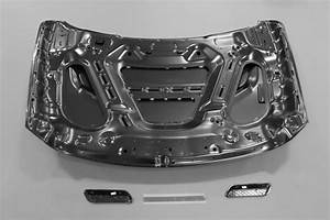2013 Dodge Ram 1500 Hood With Integrated Scoops  E