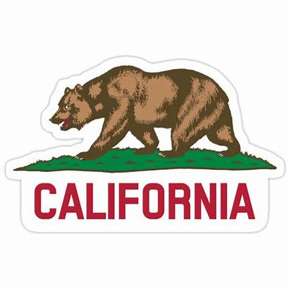 California Sticker Stickers Redbubble States