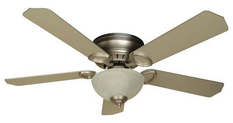 ceiling fan with multiple lights craftmade two light brushed nickel alabaster glass hugger