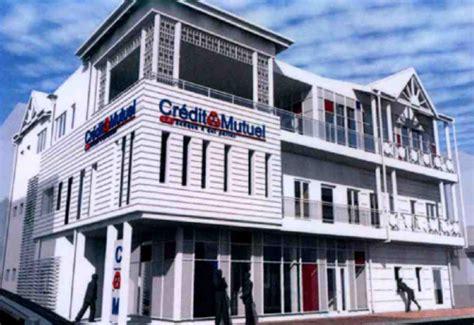 siege credit mutuel pose de la première du futur siège du crédit mutuel