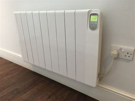 wall mounted electric radiator slim electric heaters with thermostat and timer electric 6947
