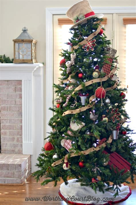 rustic christmas tree decorating ideas my rustic christmas tree worthing court 8591