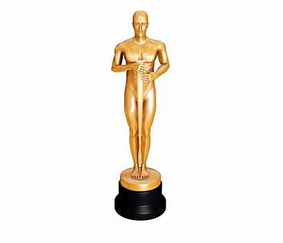 Oscar Statue Award Clipart Trophy Clip Academy