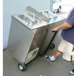 portable concession sink for sale apollo portable sinks self contained health hand washing