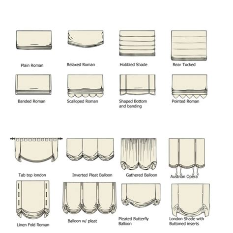 curtain types diy furniture home