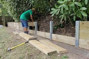 Jardinière Bois Leroy Merlin : retenue de terre leroy merlin construction maison b ton arm ~ Dailycaller-alerts.com Idées de Décoration