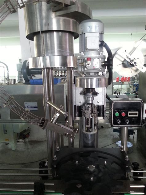 single head ropp aluminium cap screw capping machine equipment automatic ropp cap sealing