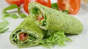 Wraps Füllung Vegetarisch : spinat wraps i toller snack f r schule arbeit uni amerikanisch ~ Markanthonyermac.com Haus und Dekorationen
