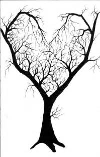 Simple Tree Drawing with Hearts