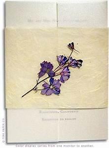 wedding dress style pressed flowers wedding invitations With wedding invitations with dried flowers