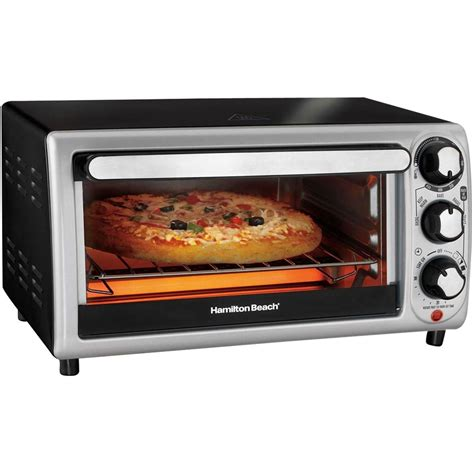 What Is The Best Toaster Oven To Purchase - best buy hamilton 4 slice toaster oven black silver