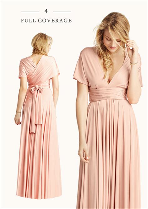 convertible bridesmaid dress styles  inspired bhldn