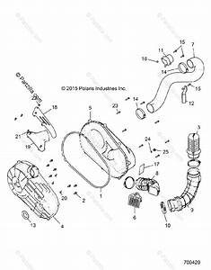Polaris Side By Side 2016 Oem Parts Diagram For Drive