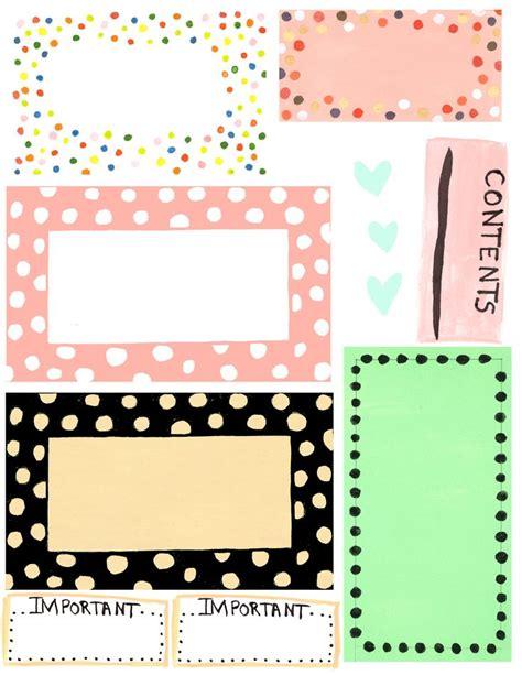 printable label design template cakepinscom labels