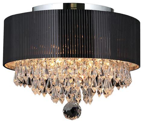 gatsby 3 light chrome finish flush mount ceiling