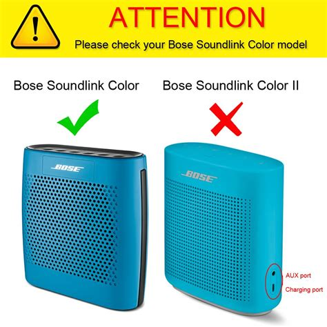 bose color premium pu leather bumper carry bag cover sleeve for