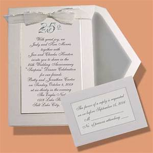 embossed wedding anniversary invitations item be23306 With funny silver wedding invitations