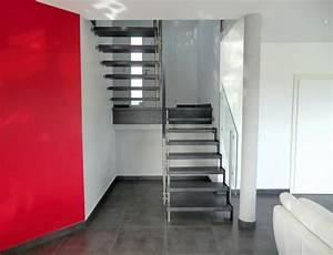 Escalier Moderne Pas Cher : escalier suspendu epura escaliers sans limon brevet ascenso ~ Premium-room.com Idées de Décoration
