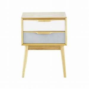Table De Chevet Maison Du Monde : o d nicher une table de nuit design h ll blogzine ~ Teatrodelosmanantiales.com Idées de Décoration