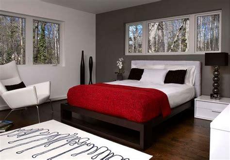Chambre Contemporaine Grise - photo déco chambre adulte ton gris deco maison moderne