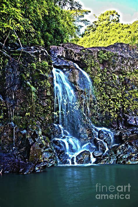 Road to hana tour stops. Waterfall on the Road to Hana Maui Hawaii Photograph by ...