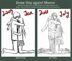 draw it again meme by minghii on deviantart With draw this again meme template