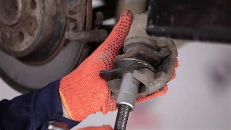 replace rear brake pads  volvo  tutorial