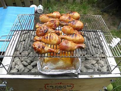 Indirect Grilling Heat Direct Chicken Grilled Heating