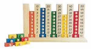 Montessori Spielzeug Baby : kids and blog neu im shop montessori material mathematischer turm rechenturm ~ Orissabook.com Haus und Dekorationen