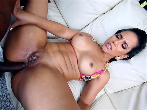 Thick Latina Tries Anal With A Big Black Dick Porno