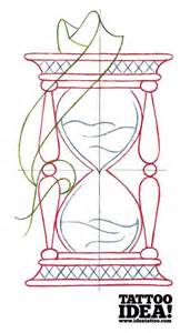 Traditional Hourglass Tattoo Drawings