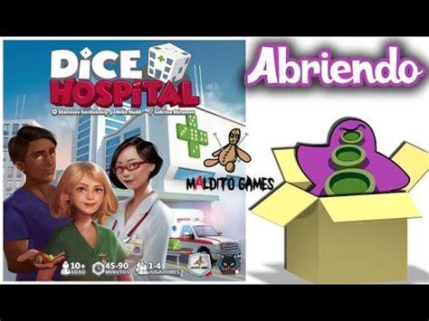 Juegos de mesa ver todas las opciones compartir. Dice Hospital - Dentro de la Caja - Unboxing Juego de Mesa - YouTube