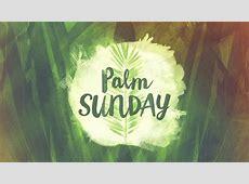 Palm Sunday St Peter's Church