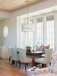 dining room light Drum Shade Chandelier in Different Dining Rooms to Try ...