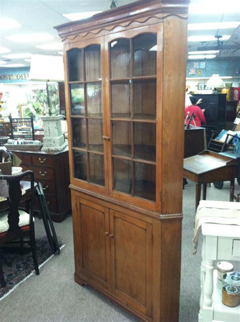 mahogany corner cabinets gorgeous antique walnut glass door corner cupboard 3950