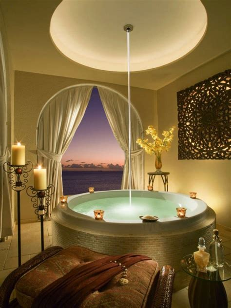 luxurious dream bathroom designs  abound