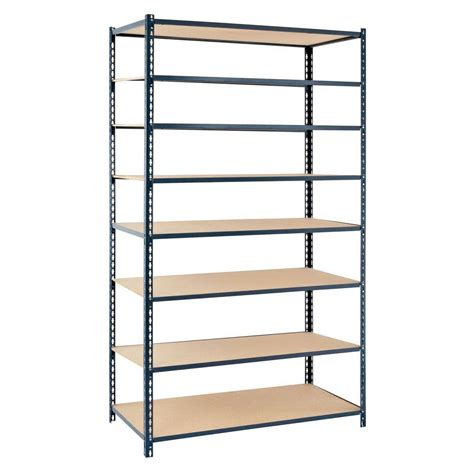 Home Shelving Units by Edsal 84 In H X 48 In W X 24 In D 8 Shelf Boltless