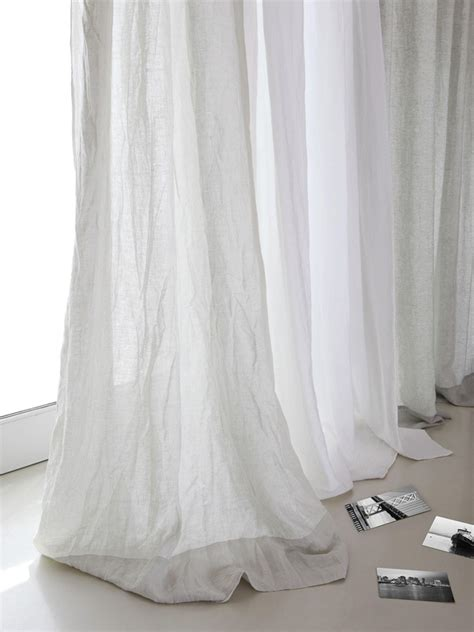 best 25 white linen curtains ideas on white