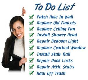 handyman jobs list handyman jobs price list